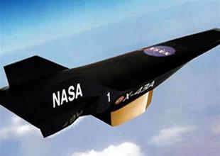 NASA'nın uzay aracı test uçuşunda düştü