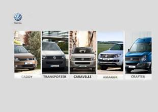 Volkswagen Ticari araçlardan bir ilk daha