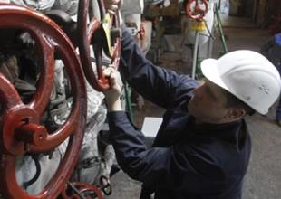 Batı Hattı'ndan doğalgaz ithalatı