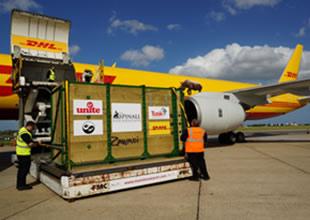 DHL Express Boeing 757'yi modifiye etti