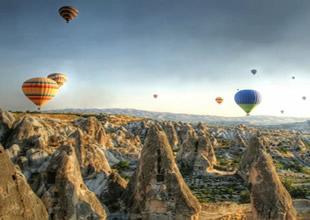 Balon turizminde yıllık gelir 33 milyon avro!
