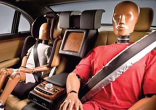 Arka koltuklarda yeni güvenlik sistemi