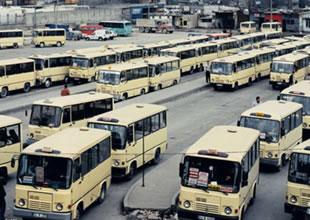 Gebze-Harem minibüsçüleri rest çekti