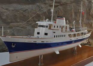 Tarihi yolcu gemisi yat olarak hizmette