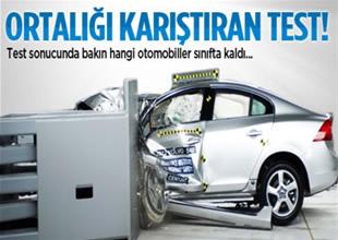 Otomobil dünyasını karıştıran test!