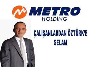 Metro Holding'de durmak yok yola devam