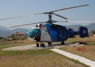Fethiye'ye yeni bir helikopter gönderildi
