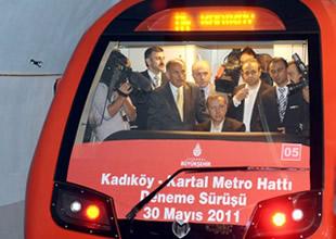 Kadıköy-Kartal metrosu bugün açılıyor