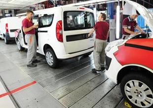 Otomotiv üretimi yüzde 14 oranında azaldı
