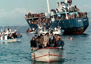 Malta açıklarında 160 kaçak yakalandı