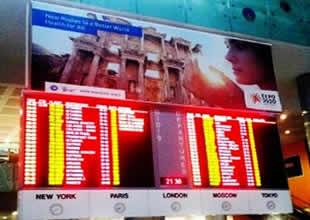 Havaalanlarında EXPO 2020 tanıtımı