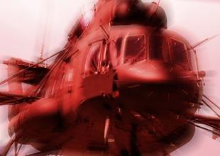 Astana'da helikopter düştü: 4 kişi öldü