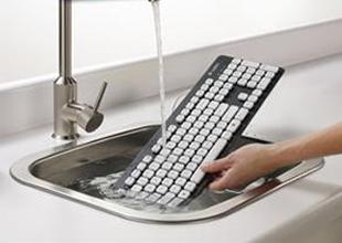 Logitech'den yıkanabilir klavye