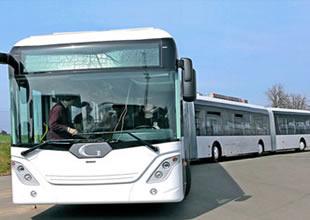 Dünyanın en uzun otobüsü Almanya'dan
