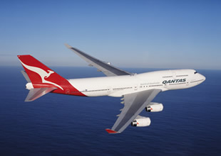 Qantas yılda 257 milyon dolar zarar etti