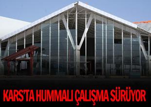 Kars Havaalanı binası için hedef  'kasım'