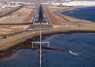 Or-Gi Havaalanı pisti için dip taraması