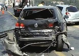 Kazada yaralanan hakkını aramıyor