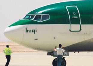 Irak Havayolları'na geçici uçuş izni verildi