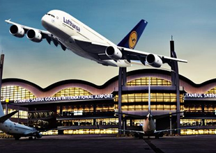 Lufthansa A-380 ile ISG'ye geliyor