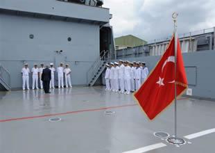 Ç-158 Deniz Kuvvetleri'ne teslim edildi