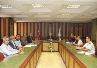 Rize Limanı'nın güvenliği toplantısı yapıldı