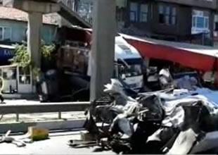 Bursa-İstanbul karayolu ulaşıma kapandı