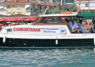İstanbul'da cankurtaran teknesi dehşeti