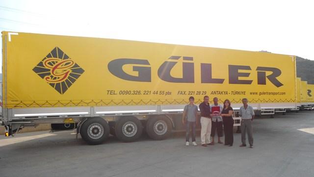 "Güler Transport'un tercihi ""TIRSAN"""