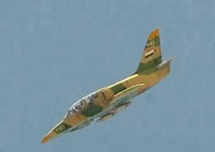 Su-35 Flanker-E tipi savaş uçağı düşürüldü