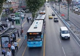"""""""Bus Line"""" uygulamasını polisler kontrol ediyor"""