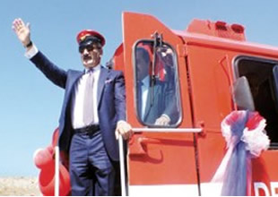 Nakliye için treni seçen ihracatçıya indirim