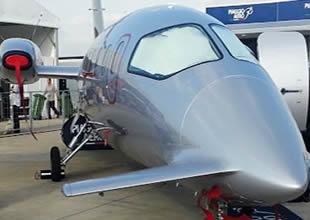 Havacılık fuarına 46 ülkeden 155 şirket katıldı