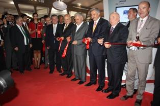 Airex 2012 Havacılık Fuarı'nın açılışı törenle yapıldı