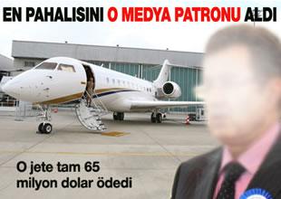 Karamehmet 65 milyon dolarlık jet aldı