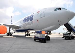 MNG Havayolları A330-200F uçağını tanıttı