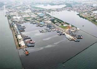 Endonezya limanları 46 milyar $'a iyileşecek