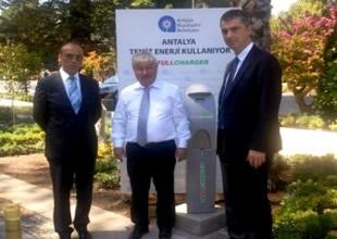 Antalya'yı da Fullcharger şarj edecek!