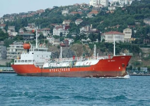 LPG gemisi 3 milyon dolara Türk armatörün oldu