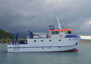 İlk yerli araştırma gemisi suya indirildi
