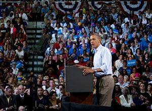 FIT ziyaretinden Obama büyük ilgi gördü