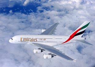 Emirates, Singapur'a da Airbus A380 ile uçacak