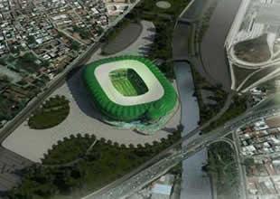 Timsah Arena'nın yolları yapılıyor!