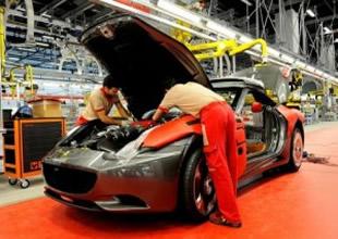 Otomotiv üretimi yüzde 27 düştü
