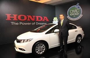 Honda,CivicEco versiyonu ortaya çıktı.