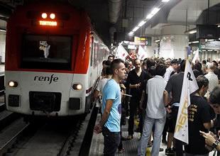 İspanya'da demiryolu ve metro çalışanları grevde