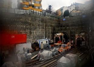 Marmaray şantiyesine yıldırım düştü: 3 yaralı
