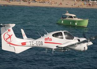 DA20-C1 Eclipse ve DA42-NG uçakları katıldı
