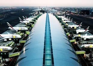 Dubai International'da yön bulma sistemi kuruldu