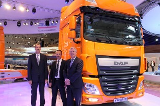 Yeni DAF XF105 Hannover fuarında tanıtıldı